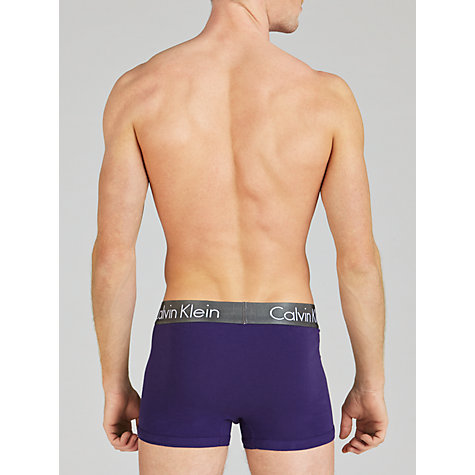 Buy Calvin Klein Underwear Nickle Cotton Trunks Online at johnlewis.com