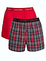 Calvin Klein Underwear Holiday Woven Trunks