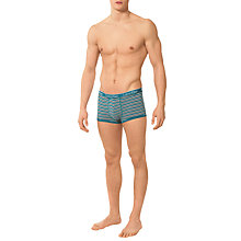 Buy Calvin Klein Underwear Obrien Stripe Trunks, Blue Online at johnlewis.com
