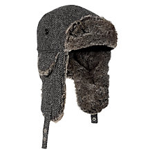 Buy JOHN LEWIS & Co. Harris Tweed Trapper Hat Online at johnlewis.com