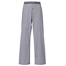 Buy Calvin Klein Woven Check Print Pyjama Trousers, Red Online at johnlewis.com