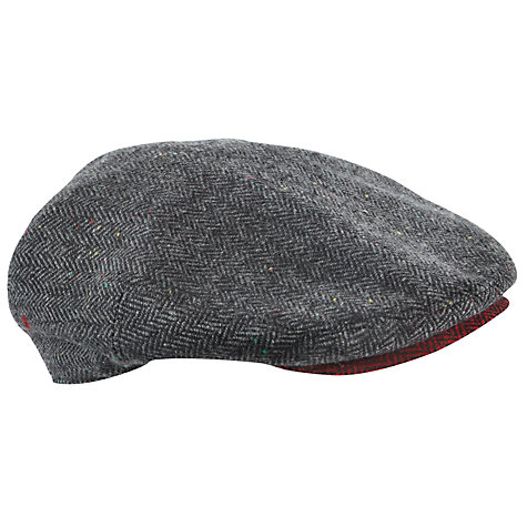 Buy Ted Baker Herringbone Flat Cap Online at johnlewis.com