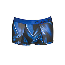 Buy Calvin Klein Underwear Solriz Low Rise Trunk, Blue Online at johnlewis.com