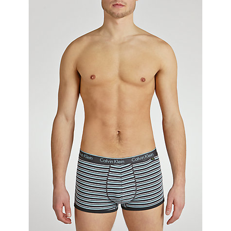Buy Calvin Klein Underwear Obrien Stripe Trunks Online at johnlewis.com