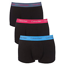 Buy Calvin Klein Underwear Stretch Boxer Trunks, Pack of 3 Online at johnlewis.com
