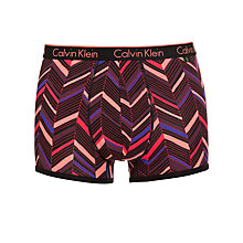 Buy Calvin Klein Underwear ck one Arrow Stripe Trunks, Multi Online at johnlewis.com