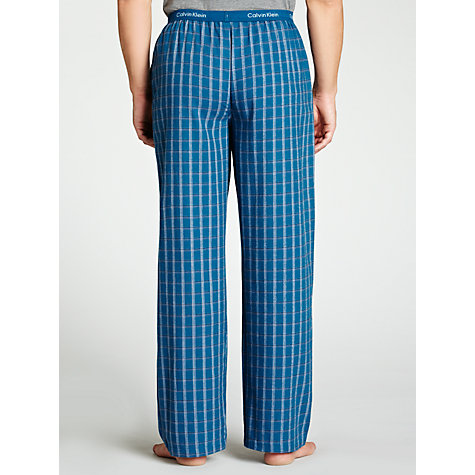 Buy Calvin Klein Woven Plaid Pyjama Pants Online at johnlewis.com