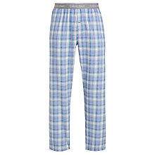 Buy Calvin Klein Check Pyjama Pants, Blue/Green Online at johnlewis.com