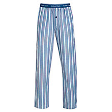 Buy Calvin Klein Striped Pyjama Pants, Blue Online at johnlewis.com
