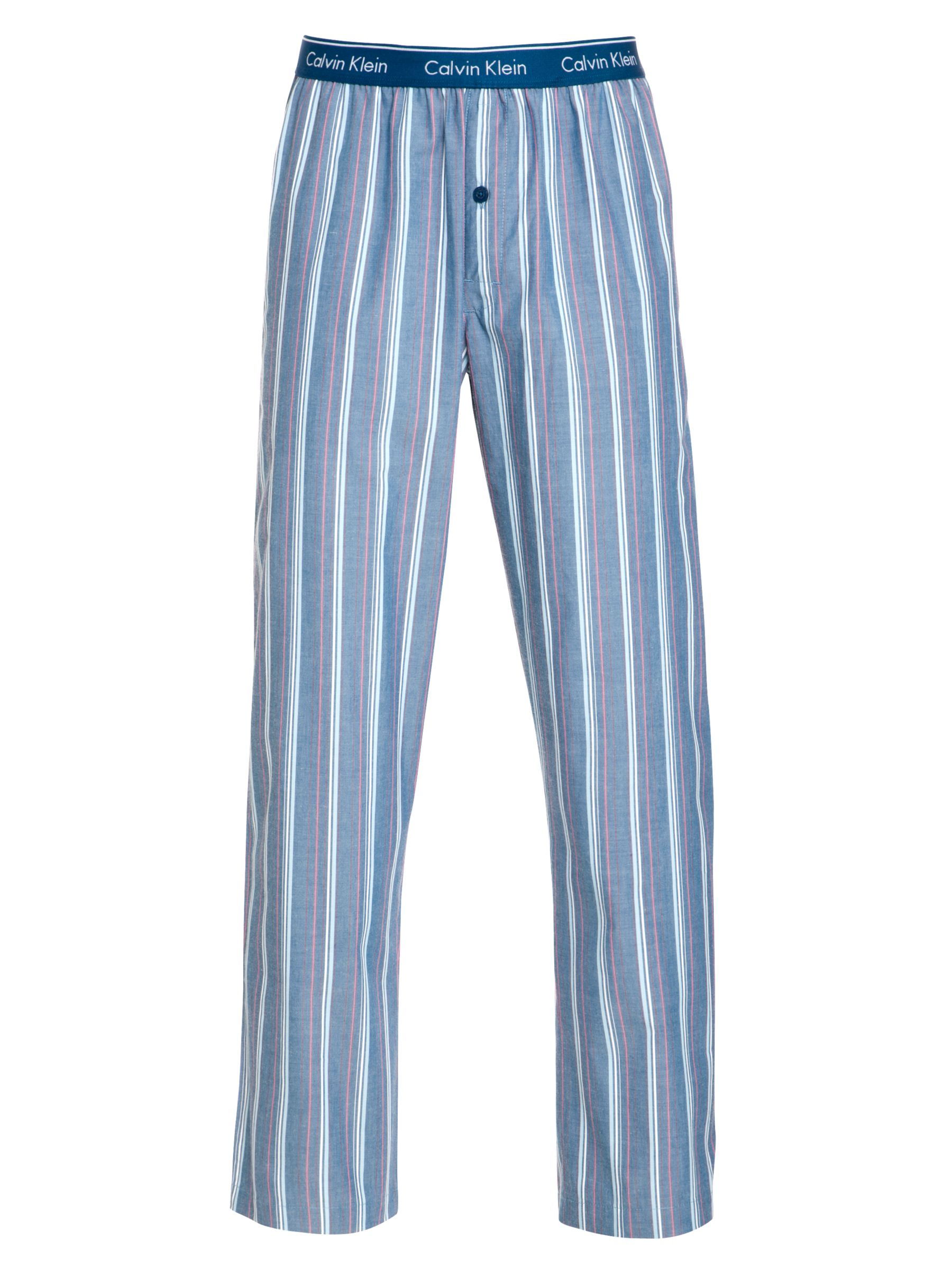 Calvin Klein Striped Pyjama Pants, Blue