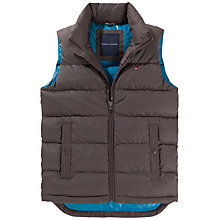 Buy Tommy Hilfiger Hudson Down Gilet, Black Online at johnlewis.com