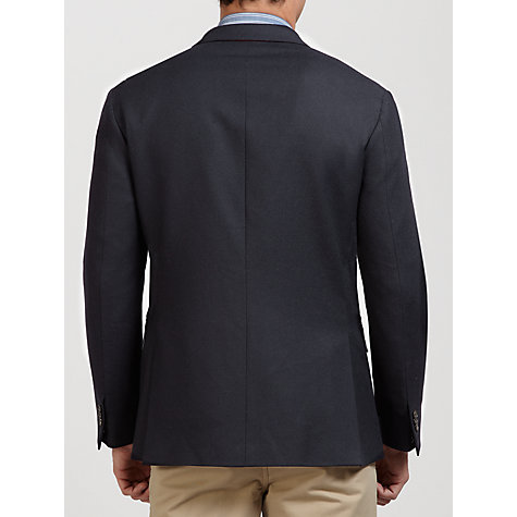 Buy Tommy Hilfiger Cotton Flannel Jacket, Black Online at johnlewis.com