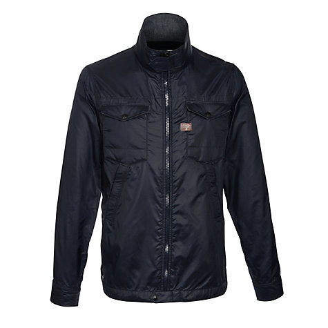 Buy G-Star Raw Michigan Overshirt Jacket, Navy Online at johnlewis.com