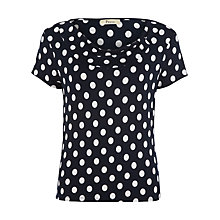 Buy Precis Petite Spot Print Jersey Top, Multi Online at johnlewis.com