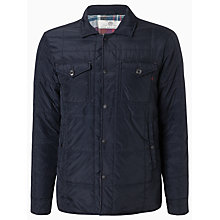 Buy Replay Quilted Field Jacket, Navy Online at johnlewis.com