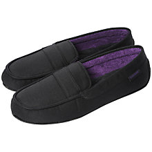 Buy Totes Isotoner Canvas Pillowstep Slippers Online at johnlewis.com