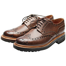 Buy Grenson Archie Leather Brogue Shoes Online at johnlewis.com