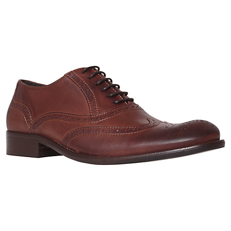Buy KG by Kurt Geiger Sandringham Leather Brogue Shoes Online at johnlewis.com