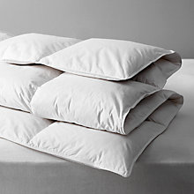 Buy John Lewis New Supreme White Goose Down Duvet, 10.5 Tog Online at johnlewis.com
