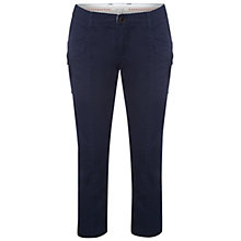 Buy White Stuff Red Bay Cropped Trousers, Navy Online at johnlewis.com