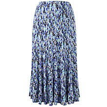 Buy CC Raindrop Printed Jersey Skirt, Ultra Marine Online at johnlewis.com