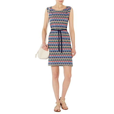 Buy NW3 by Hobbs Mosaic Dress, Navy Multi Online at johnlewis.com