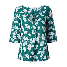 Buy White Stuff Ginko Top, Apple Green Online at johnlewis.com