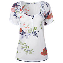 Buy White Stuff Mountain Side Top, Rice Online at johnlewis.com