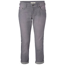 Buy White Stuff  Striped Cropped Jeans, Whisper Grey Online at johnlewis.com