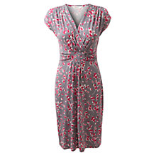 Buy East Floral Print Dress, Grey Online at johnlewis.com