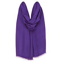 Buy Coast Theresa Wrap, Purple Online at johnlewis.com