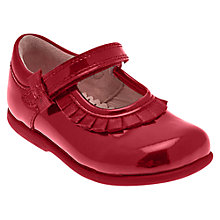 Buy Start-rite Coco Patent Shoes, Red Online at johnlewis.com