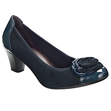 Buy Gabor Amine Court Shoes, Night Blue Online at johnlewis.com