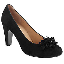 Buy Gabor Ayres Court Shoes, Black Online at johnlewis.com