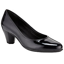 Buy John Lewis Designed for Comfort Pelican Patent Court Shoes Online at johnlewis.com
