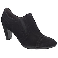 Buy Gabor Factor Court Shoes, Black Online at johnlewis.com