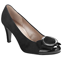 Buy Gabor Renae Court Shoes, Black Online at johnlewis.com
