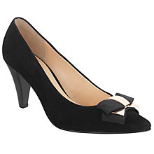 Buy Gabor Pavlova Court Shoes, Black Online at johnlewis.com