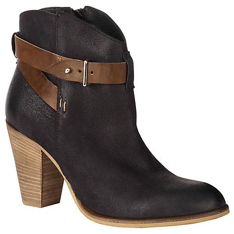 Buy COLLECTION by John Lewis Bastille Ankle Boots, Black Online at johnlewis.com