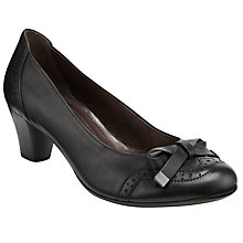 Buy Gabor Alva Court Shoes, Black Online at johnlewis.com
