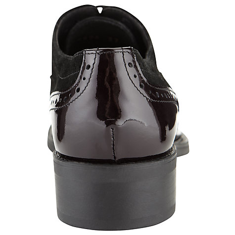 Buy Somerset by Alice Temperley Claverton Brogue Shoes, Bordeaux Online at johnlewis.com