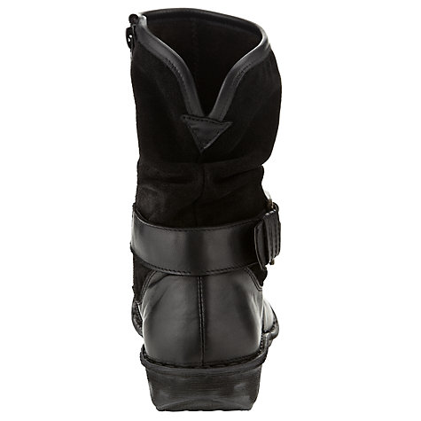Buy John Lewis Designed for Comfort Budgie Calf Boots, Black Online at johnlewis.com
