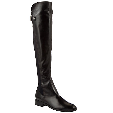 Buy COLLECTION by John Lewis Dench Over The Knee Boots, Black Online at johnlewis.com