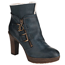 Buy Collection WEEKEND by John Lewis Arc Ankle Boots, Blue Online at johnlewis.com