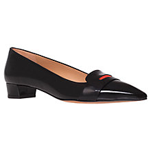 Buy Kurt Geiger Loire Court Shoes, Black Online at johnlewis.com