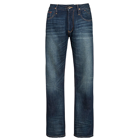 Buy Hilfiger Denim Ryan Straight Leg Jeans, Denim Online at johnlewis.com