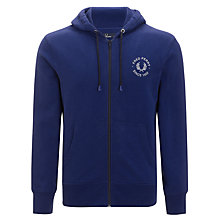 Buy Fred Perry Full Zip Hoodie Online at johnlewis.com