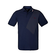 Buy Fred Perry Cut And Sew Sash Polo Shirt Online at johnlewis.com
