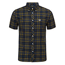 Buy Fred Perry Classic Check Short Sleeve Shirt Online at johnlewis.com