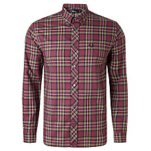 Buy Fred Perry Classic Tartan Long Sleeve Shirt Online at johnlewis.com